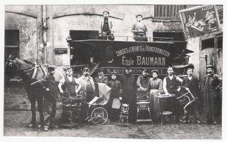 Baumann en 1901